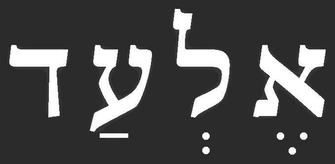 עיצוב לוגו - אלעד