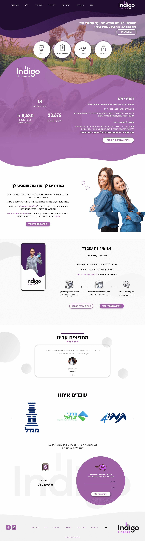 בניית אתרים - אינדיגו